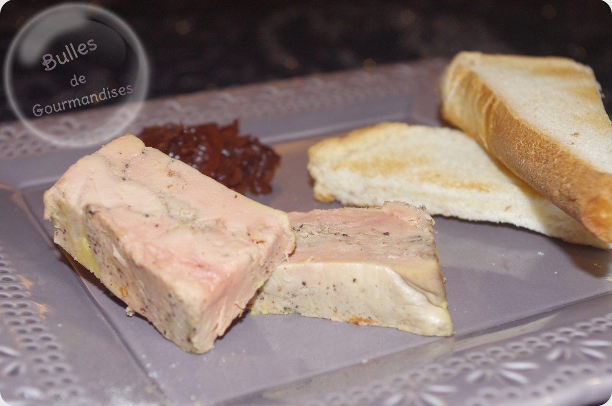 Foie gras facile foie gras maison bulles de gourmandises - Faire foie gras maison ...