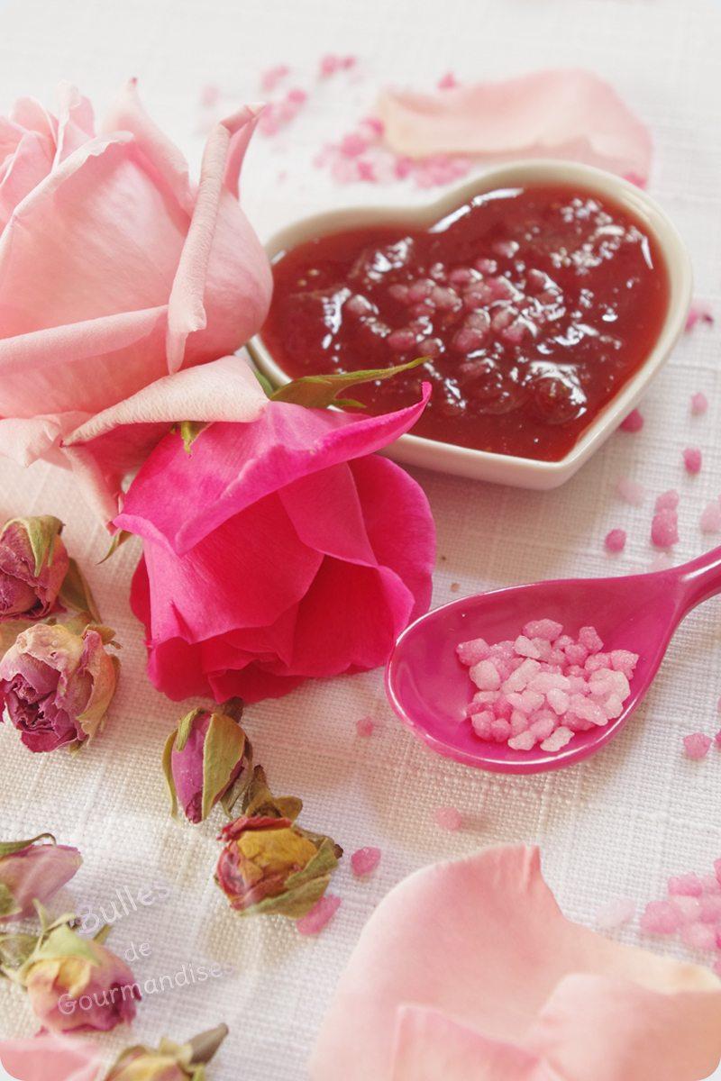 confiture de fraises la rose une d licatesse parfum e bulles de gourmandises. Black Bedroom Furniture Sets. Home Design Ideas