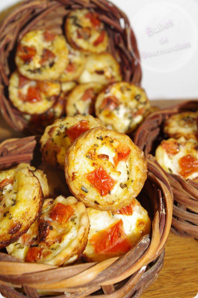 Mini Cake Courgette Chevre Pignon De Pin