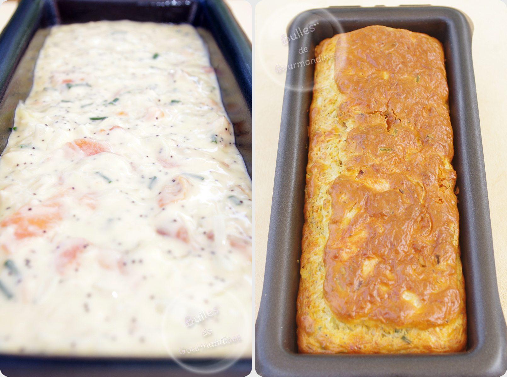 Cake  Ef Bf Bd La Truite Fum Ef Bf Bde Et Au Citron
