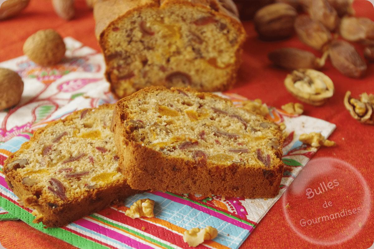 Cake Aux Noix Et Abricots Secs