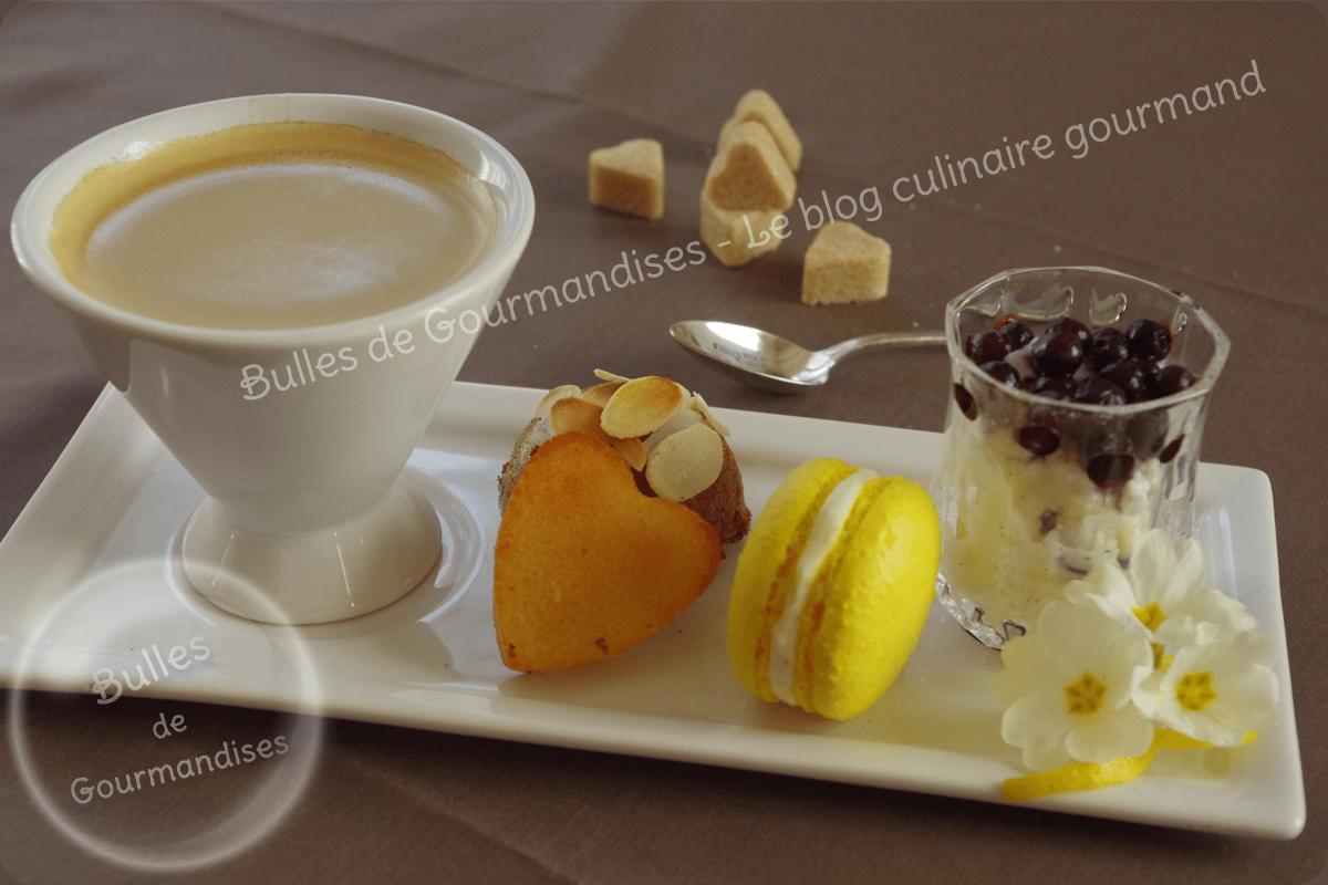 Caf gourmand le p 39 tit dessert plaisir bulles de gourmandises - Assiette rectangulaire pour cafe gourmand ...