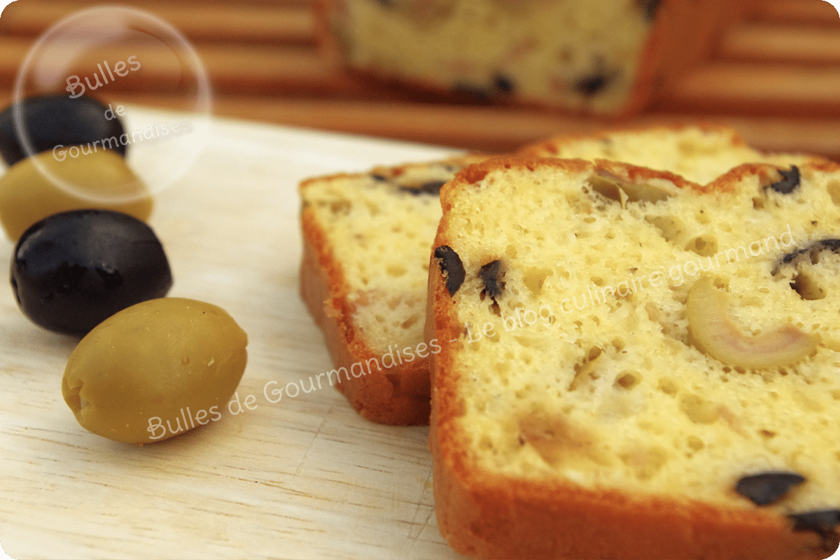 Petits Cake Olives Jambon