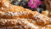 Paris-Brest revisité à la vanille et aux myrtilles… Cœur gourmand pour fêter toutes les mamans !!!